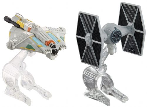 Star Wars Hot Wheels Tie Fighter vs Ghost Playset